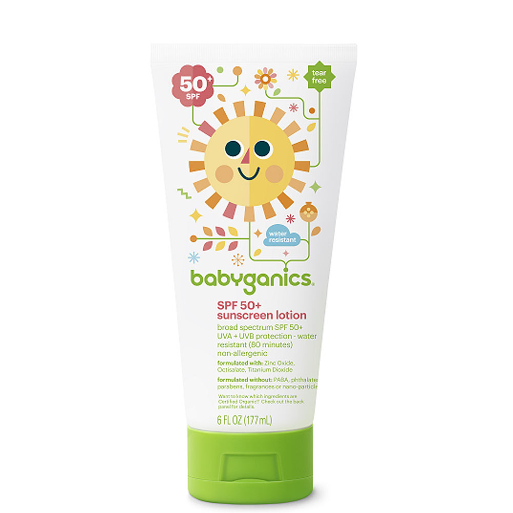 Babyganics Cover-Up Baby Sunscreen Lotion SPF 50