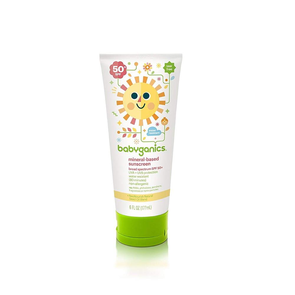 Babyganics Mineral Based Sunscreen - SPF 50+