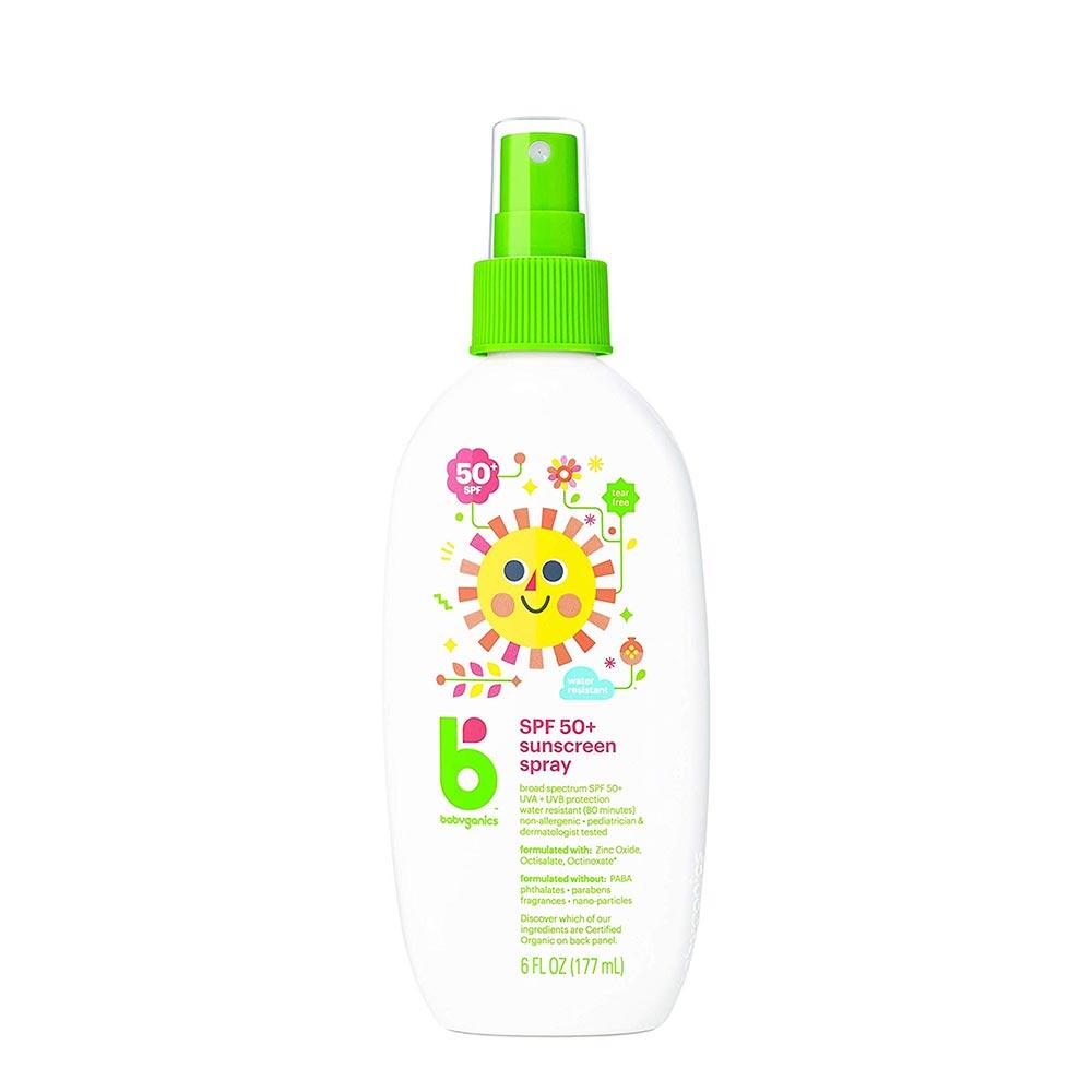 Babyganics SPF 50 Baby Sunscreen Spray