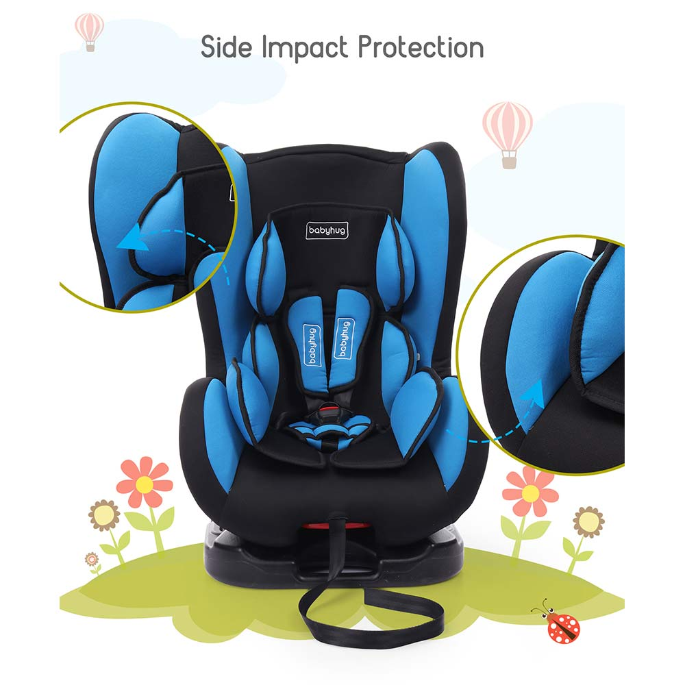 Babyhug Cruise Convertible Reclining Car Seat With Side Impact Protection-1