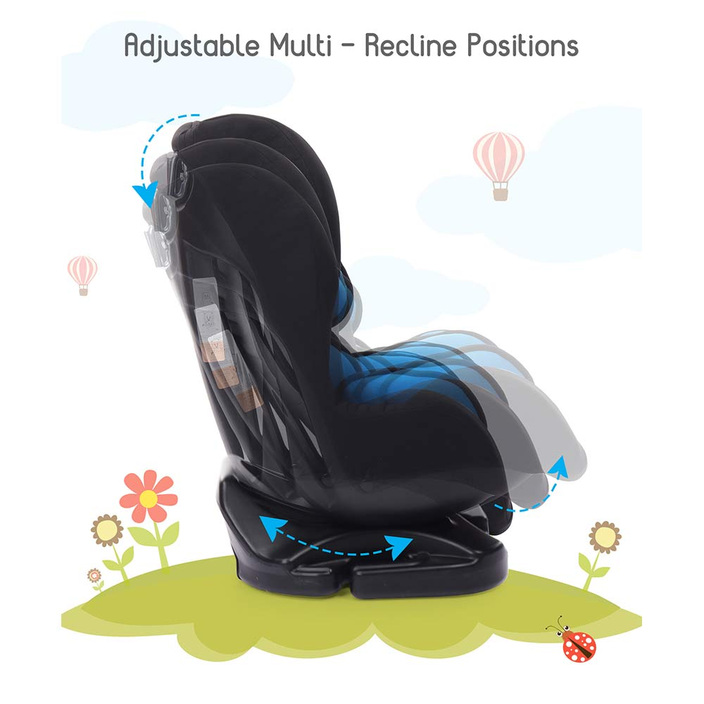 Babyhug Cruise Convertible Reclining Car Seat With Side Impact Protection-3
