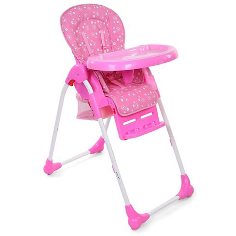 Babyhug Easy Diner High Chair With 5 Adjustable Heights & 3 Level Seat Recline
