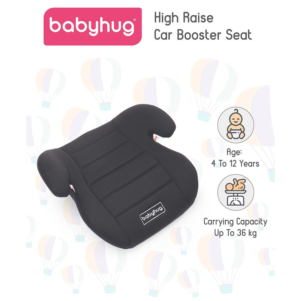 Babyhug High Raise Car Booster Seat