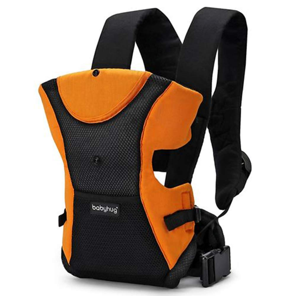 Babyhug Kangaroo Pouch 3 Way Baby Carrier Flexible Head Support