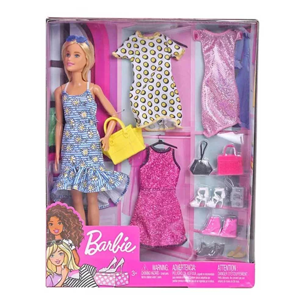 Barbie Fashion Doll With Accessories