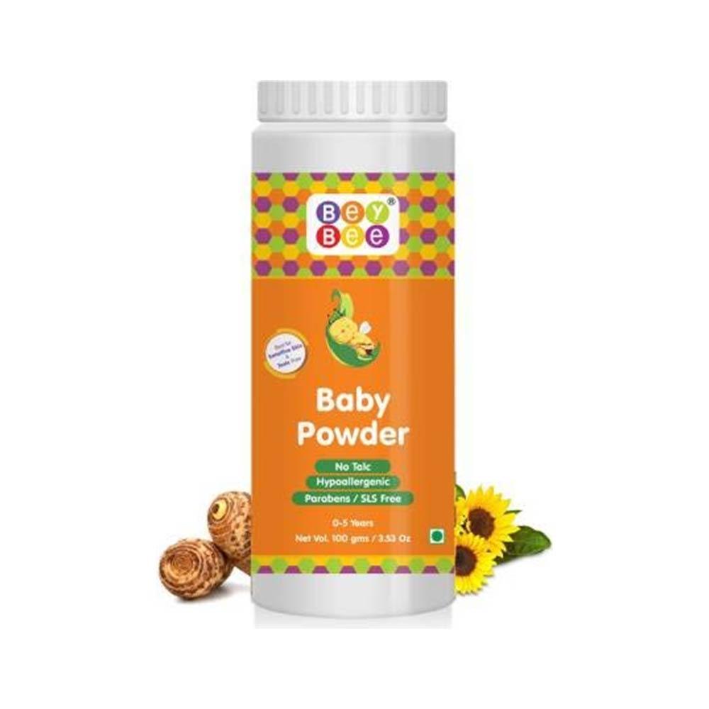 Baybee talc free baby powder