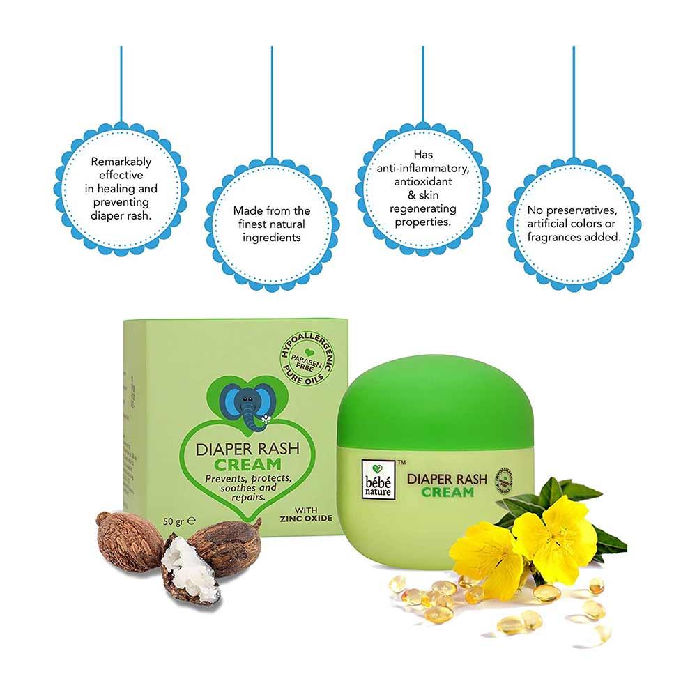Bebe Nature Natural Diaper Rash Cream-1