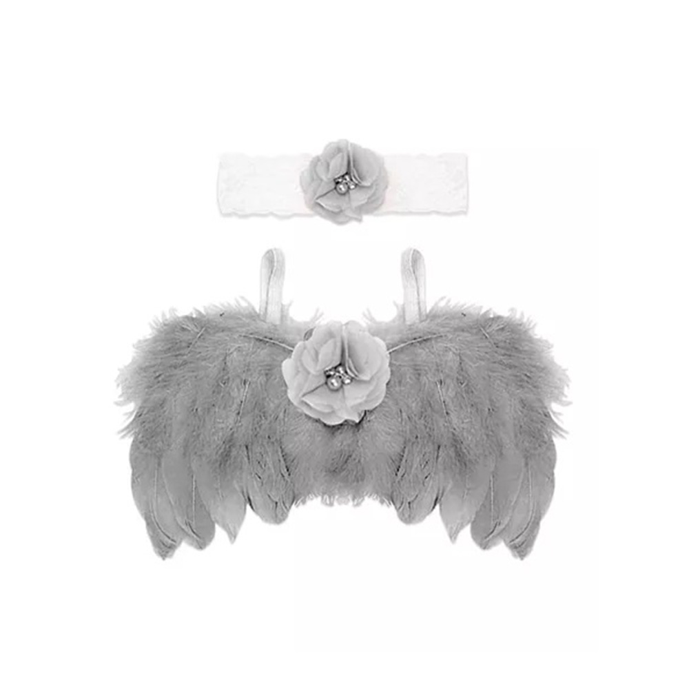 Bembika Angel Wings and Headband Baby Photography Props