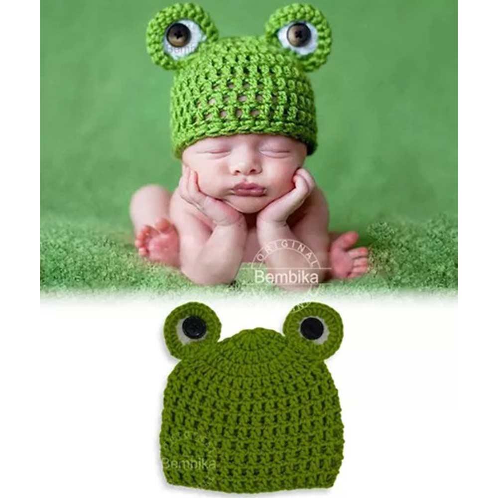 Bembika Knitted Crochet Cap