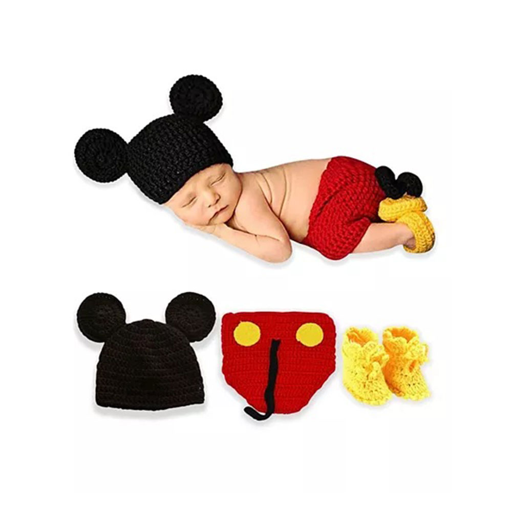 Bembika Newborn Lovely Knitted Chunky Cartoon Designer Photography Prop