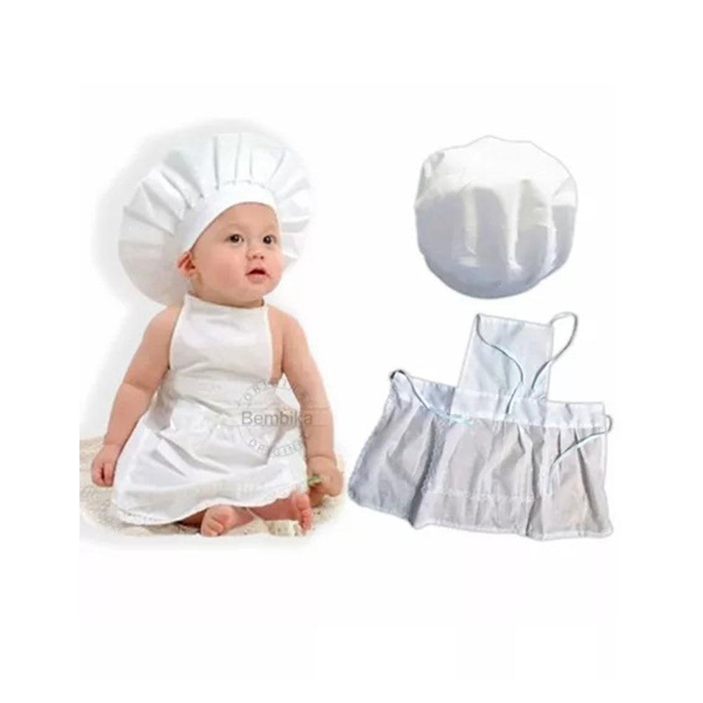 Bembika Newborn Master chef Costume Photography Prop Set