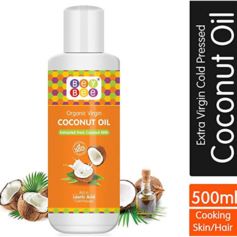 BeyBee Extra Virgin Organic Coconut Oil
