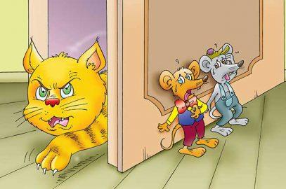 बिल्ली के गले में घंटी की कहानी   Billi Ke Gale Mein Ghanti