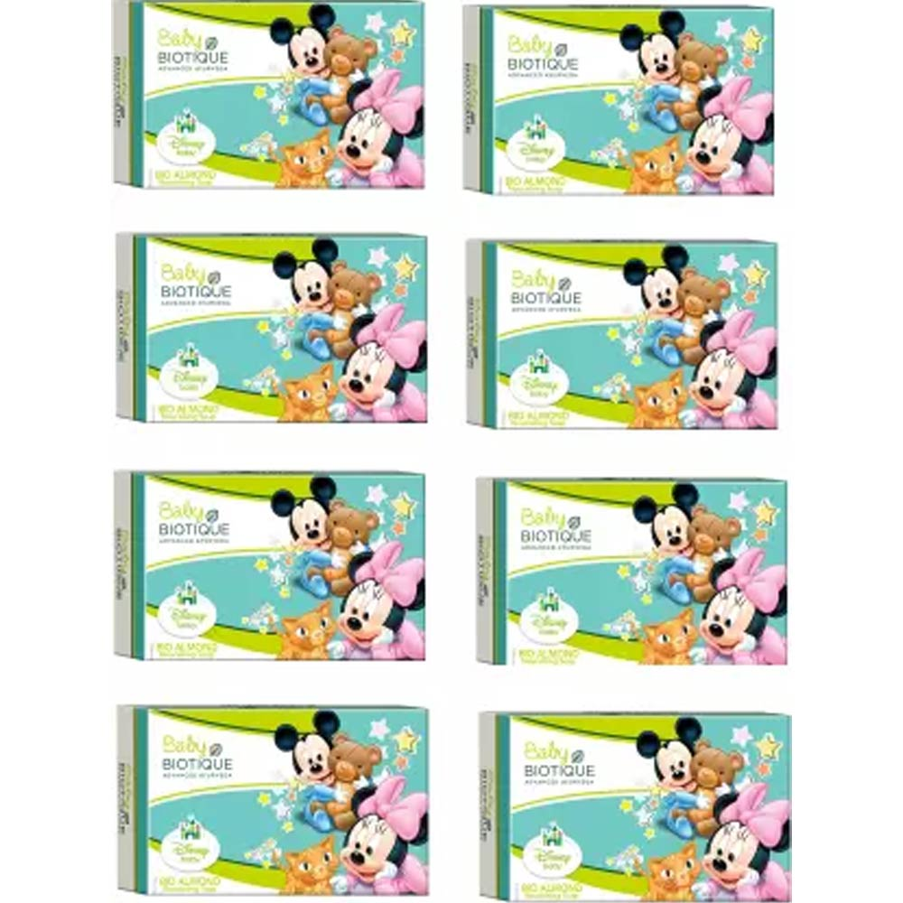 Biotique BIO Almond Disney Nourishing SOAP-1