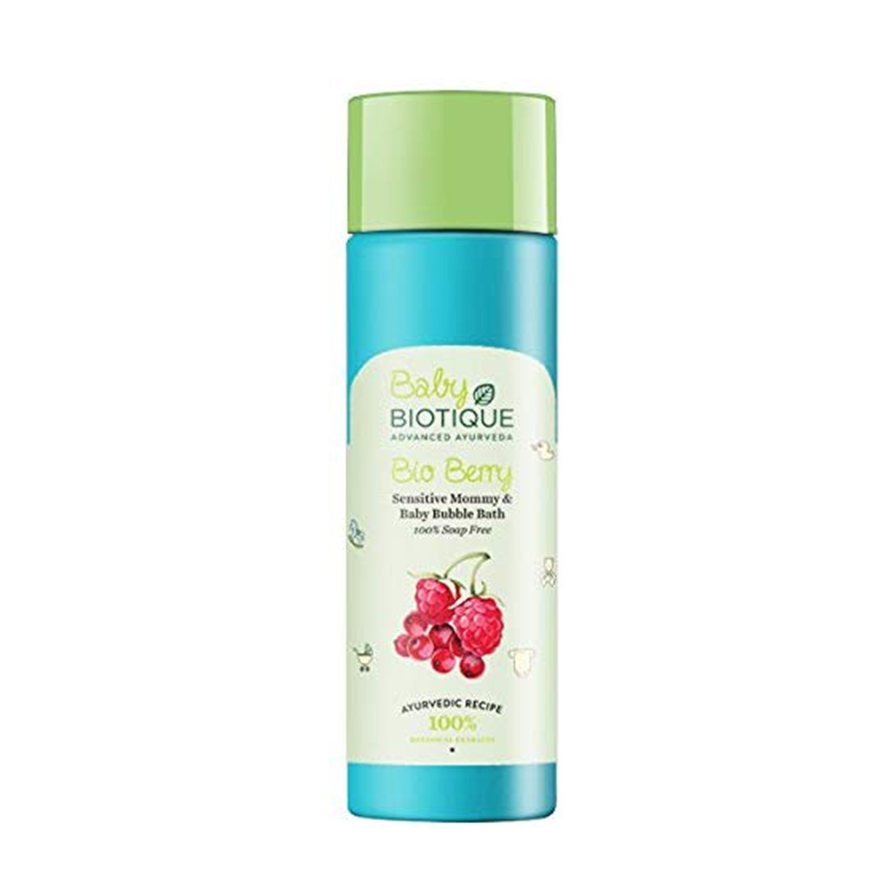 Biotique Berry Mommy and Baby Bubble Bath-0