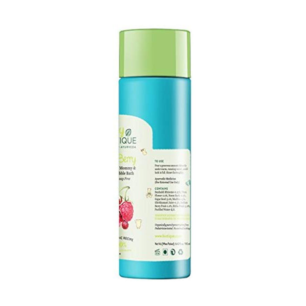 Biotique Berry Mommy and Baby Bubble Bath-1