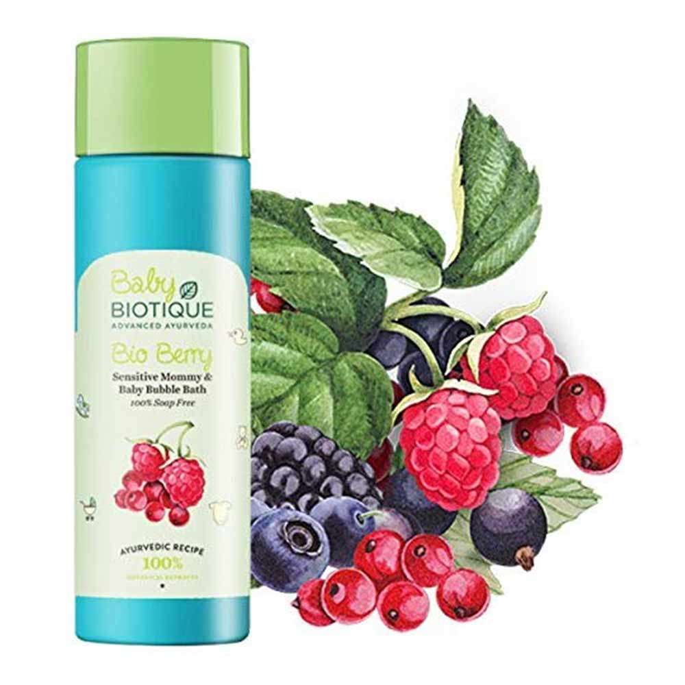 Biotique Berry Mommy and Baby Bubble Bath-2