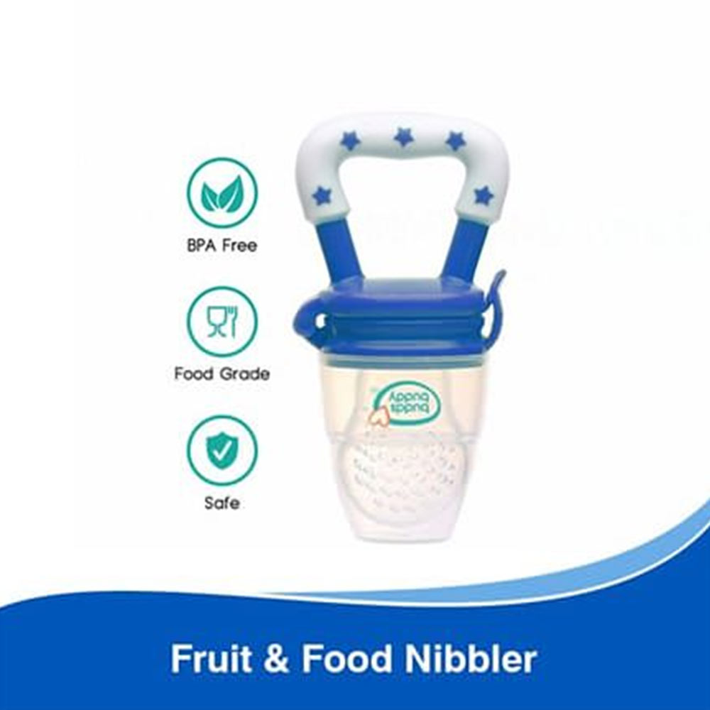 Buddsbuddy Fruit and Food Nibbler Blue