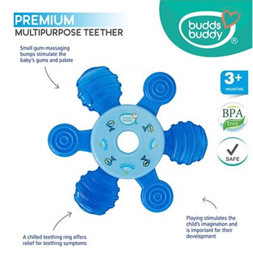 Buddsbuddy Premium Multipurpose Teether-3