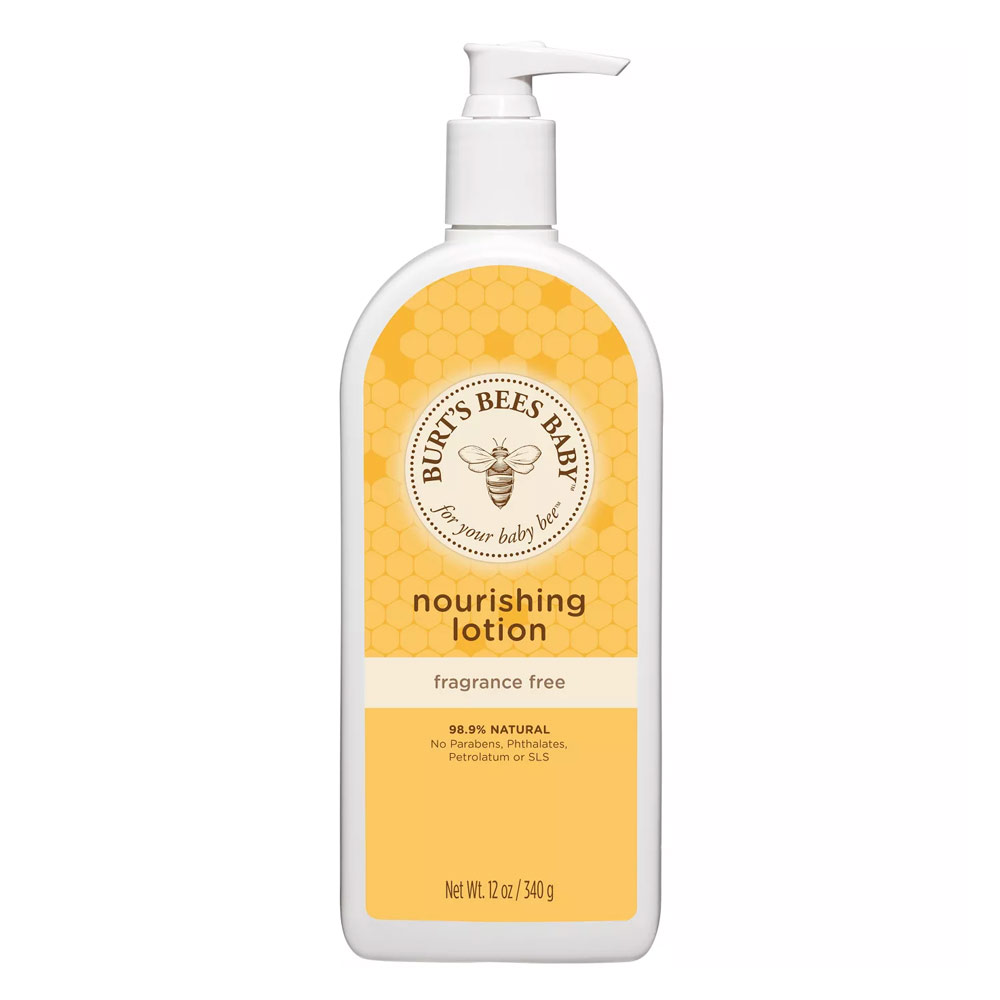 Burt's Bees Baby Bee Nourishing Fragrance Free Lotion