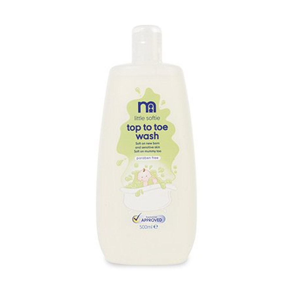 MotherCare Little Softie Top To Toe Body Wash