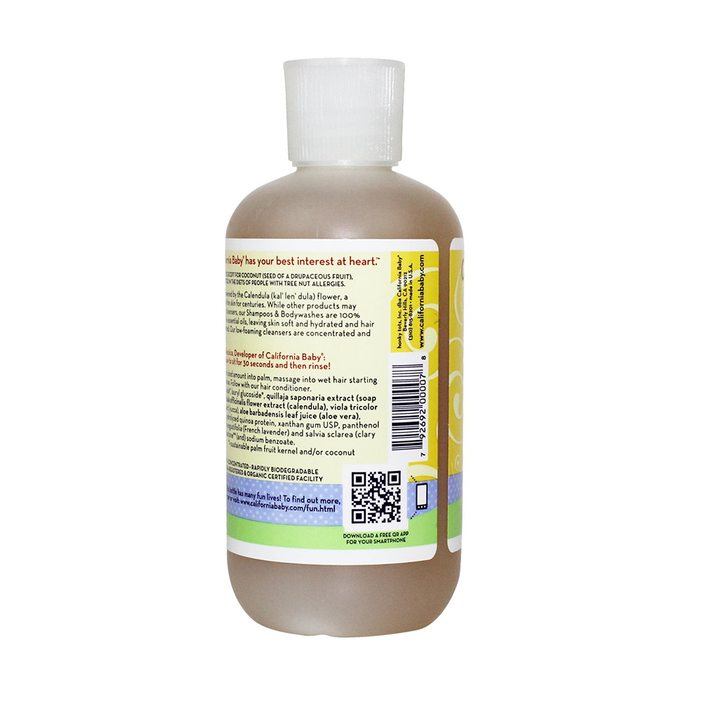 California Baby Calendula Shampoo and Body Wash