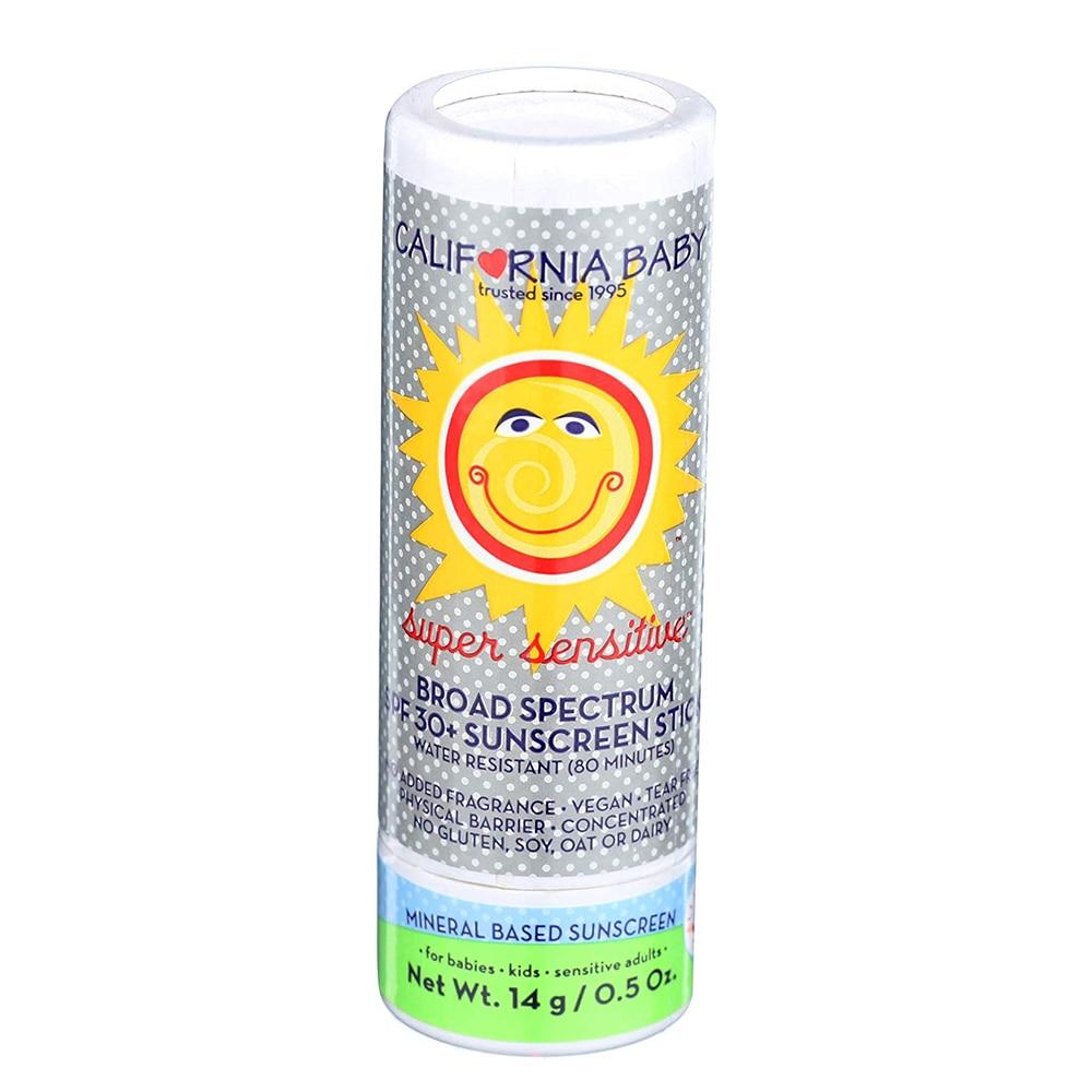 California Baby Super Sensitive Sunblock Stick SPF 30+, No Fragrance