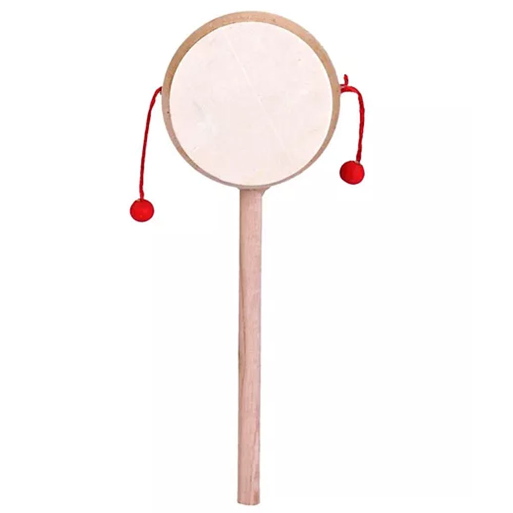 Fab-N-Funky Classic Wooden Rattle