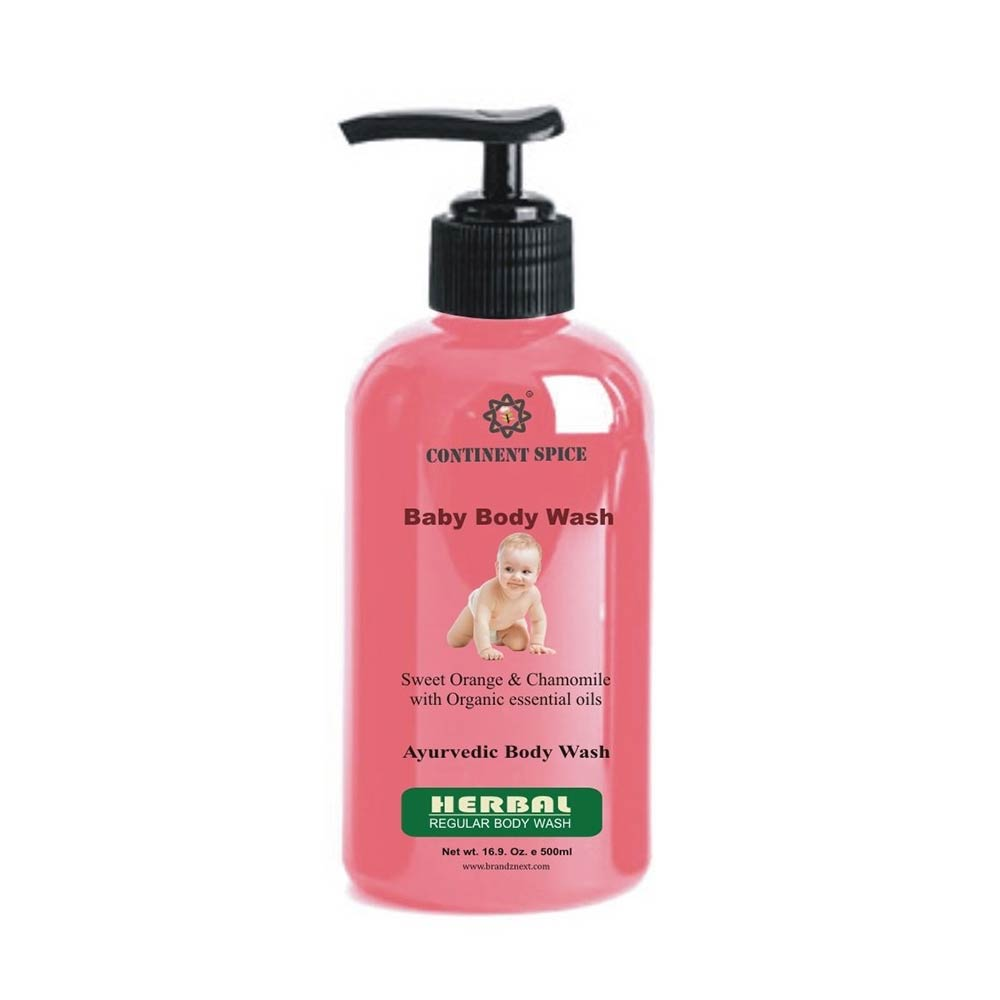 Continent Spice Khadi Baby Body Wash