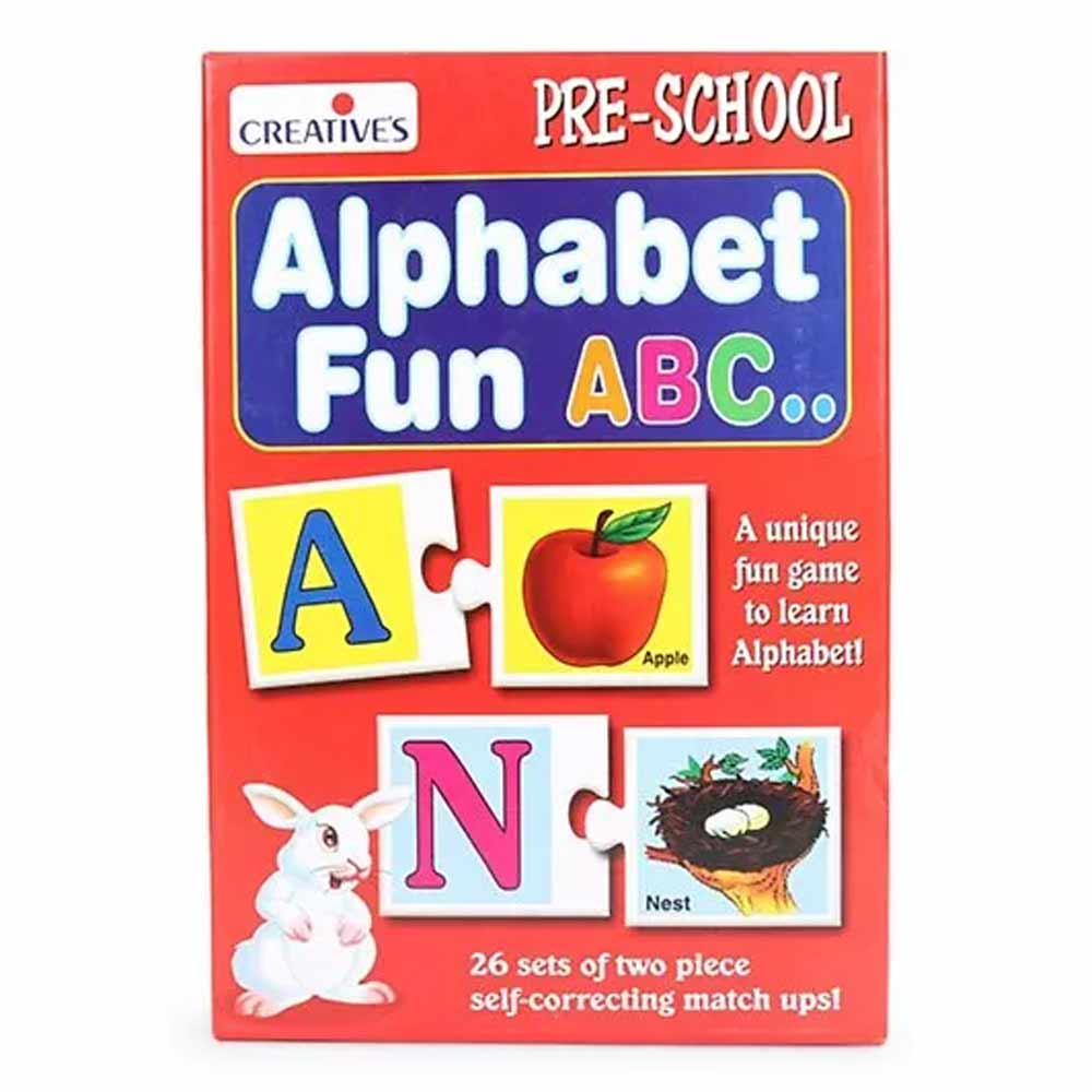 Creative's Alphabet Fun ABC Card Game