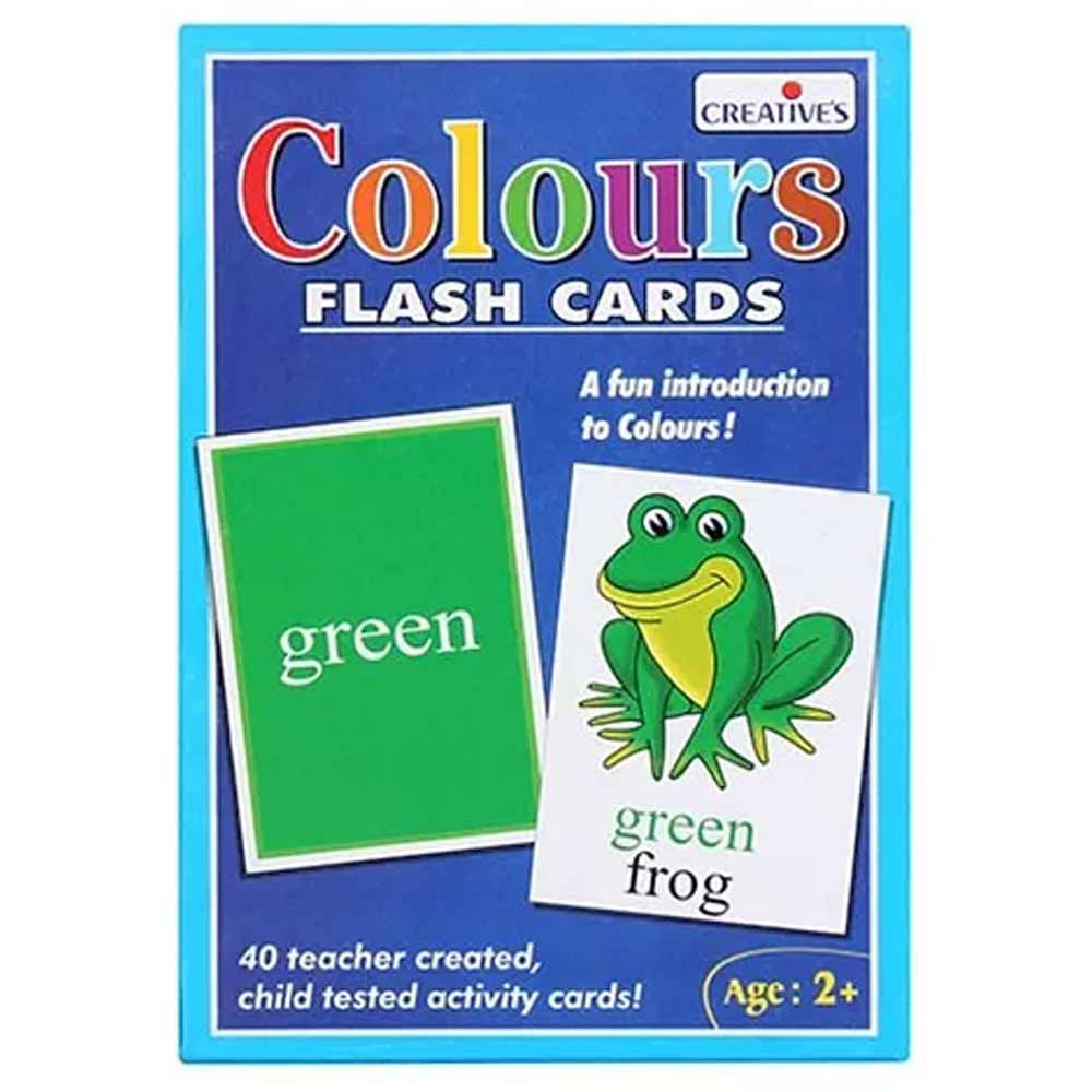 Creatives - Colors Flash Cards