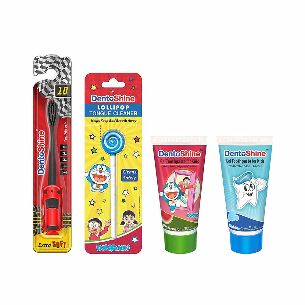 DentoShine Oral Care Toothbrush