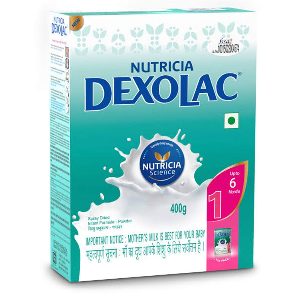 Dexolac Stage 1 Infant Formula Refill Pack