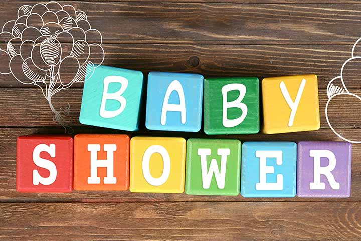 Don't Forget The Baby Shower Sign