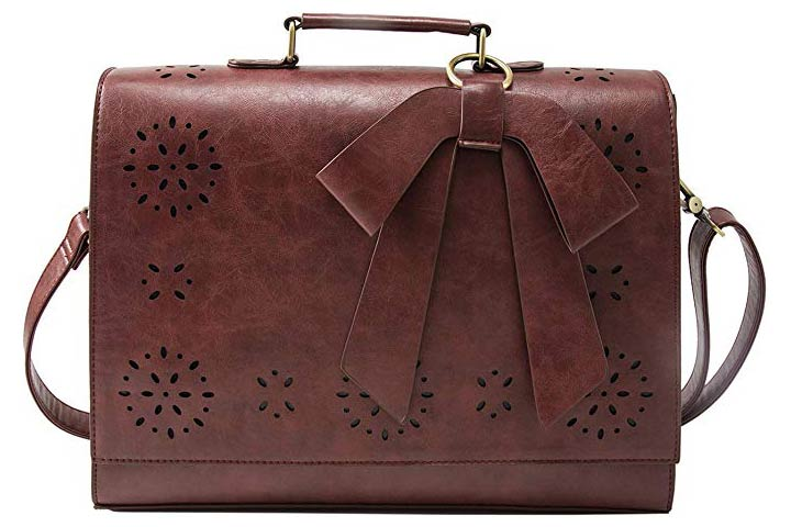 ECOSUSI Briefcase-style Laptop BagFor Women