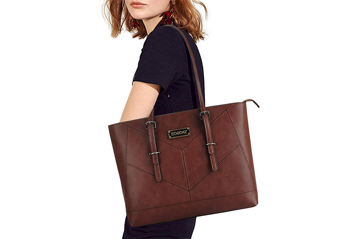 EDODAY Casual Work Tote Business Laptop Bag