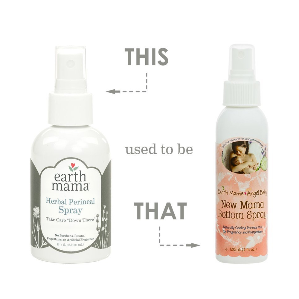 Earth Mama Angel Baby New Mama Bottom Spray-1