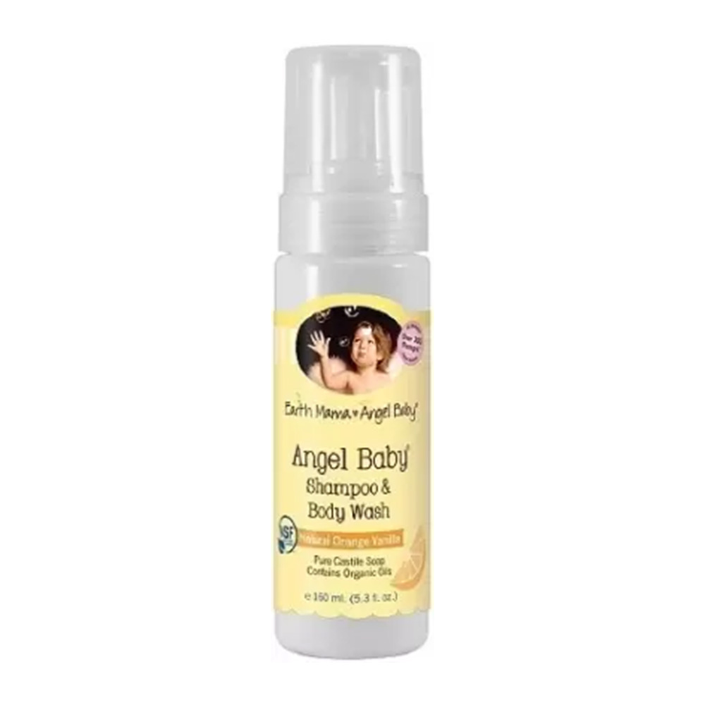 Earth Mama Angel Baby shampoo
