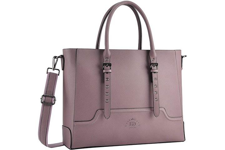 EaseGave Multi-Pocket Laptop Bag for Women