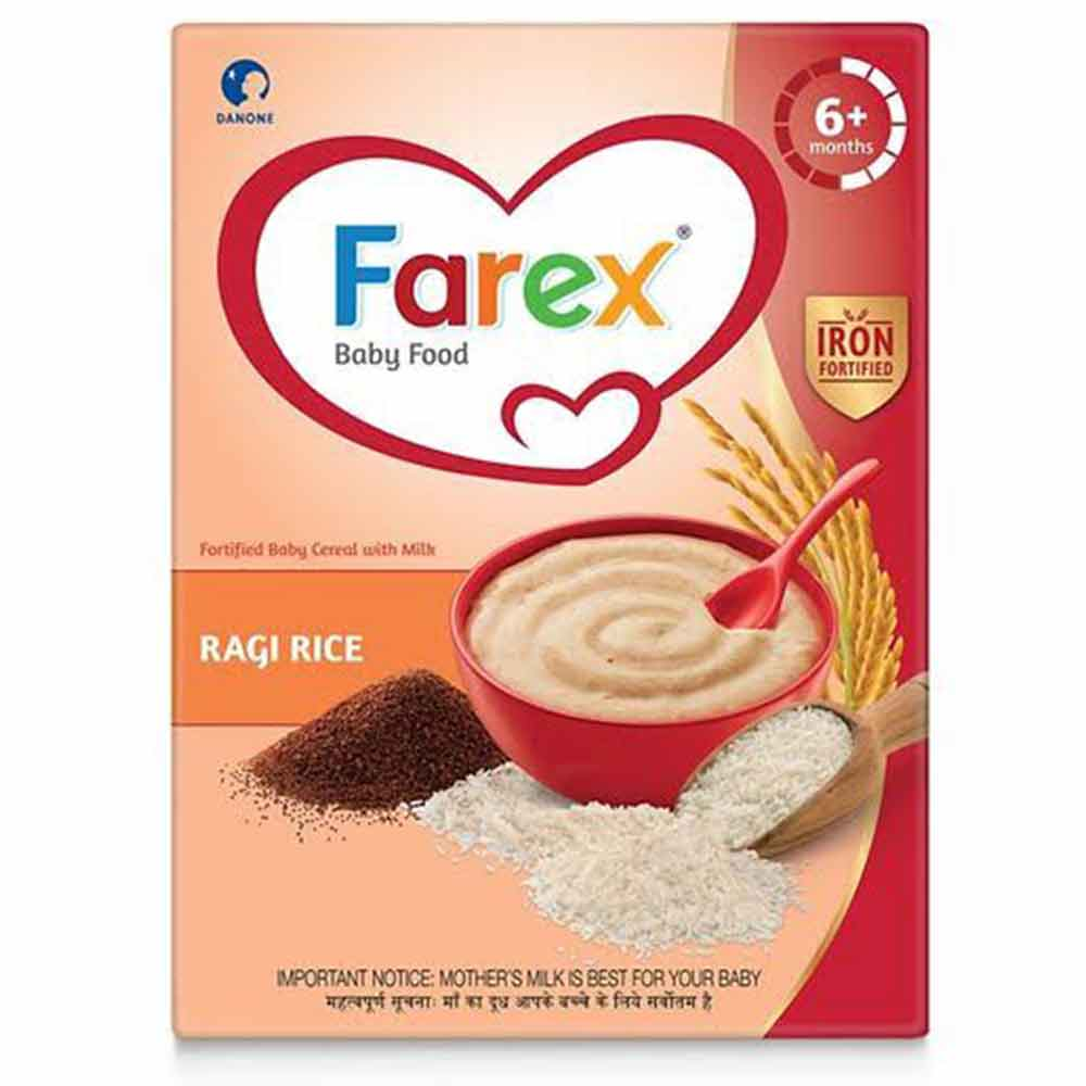 Farex Ragi Rice Fortified Baby Cereal