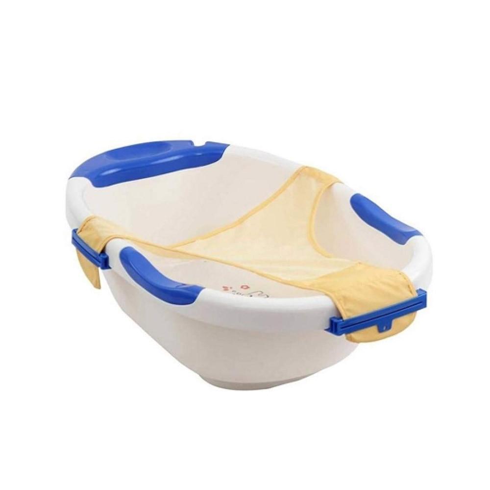 Farlin Anti Skid Bath Tub with Net and Easy Drainage