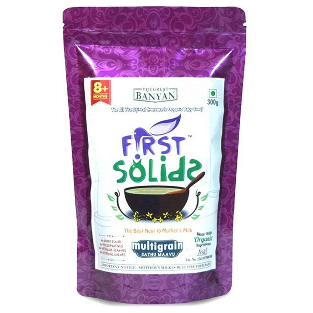 First Solids Organic Multigrain Sathumaavu