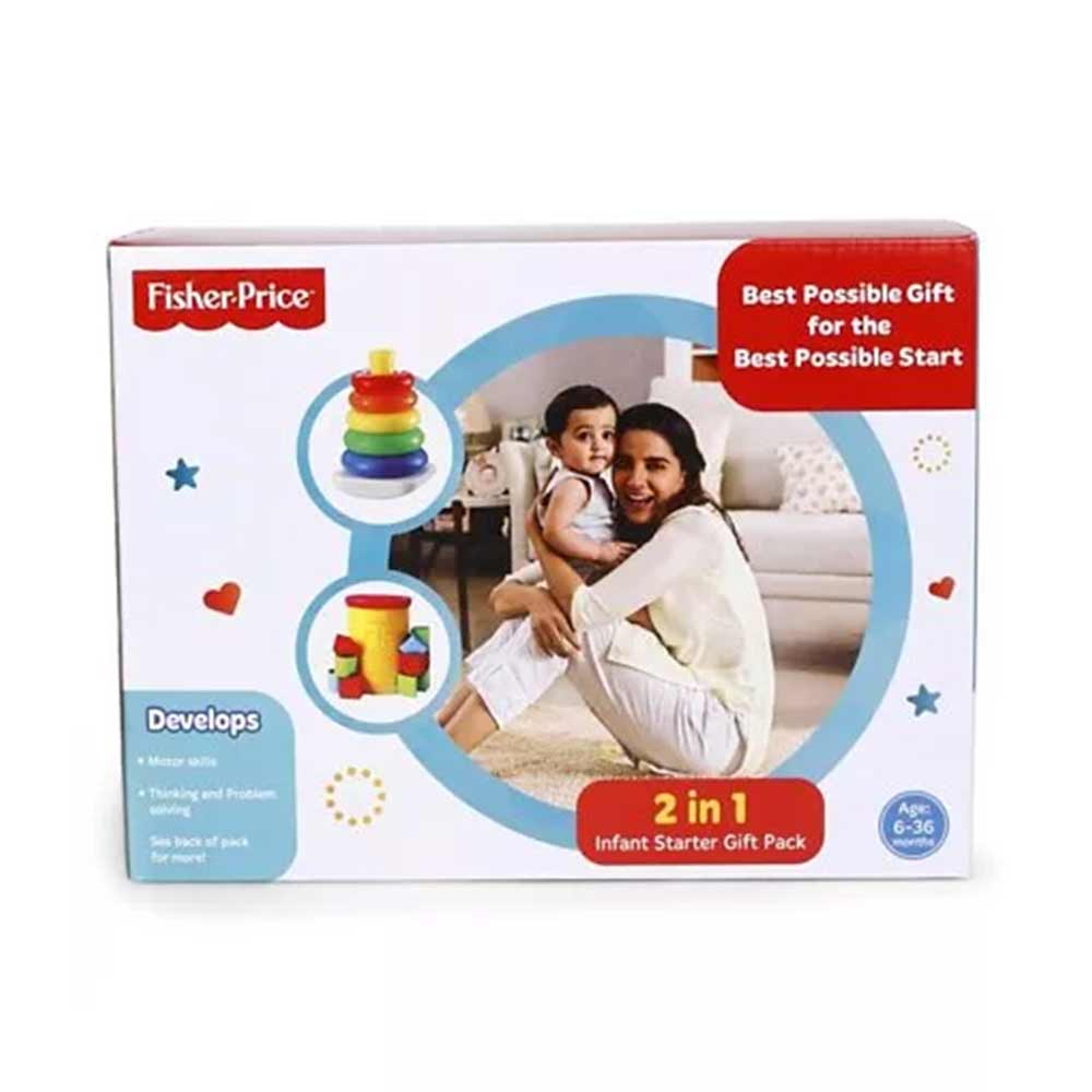 Fisher Price 2 in 1 Infant Starter Pack