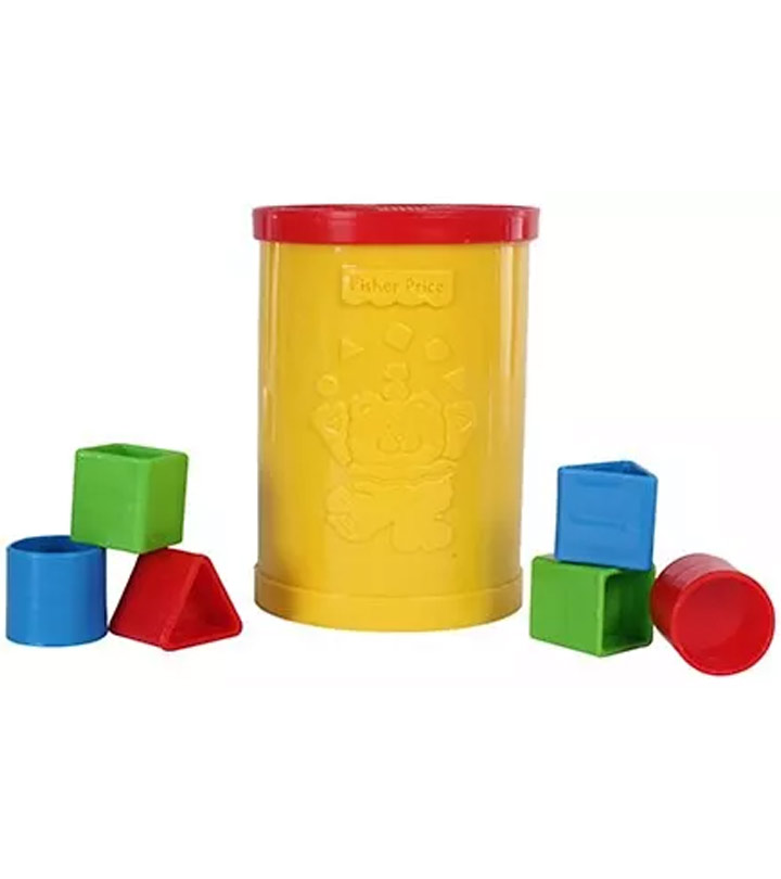 Fisher Price - Brilliant Basics Babys First Blocks Set
