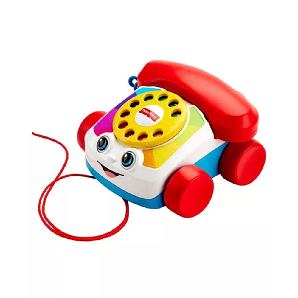 Fisher Price Pull Along Chatter Toy Telephone