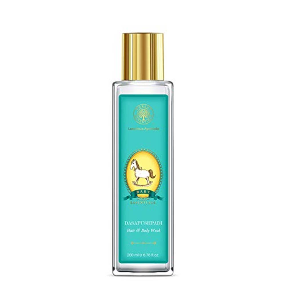 Forest Essentials Dasapushpadi Baby Hair and Body Wash