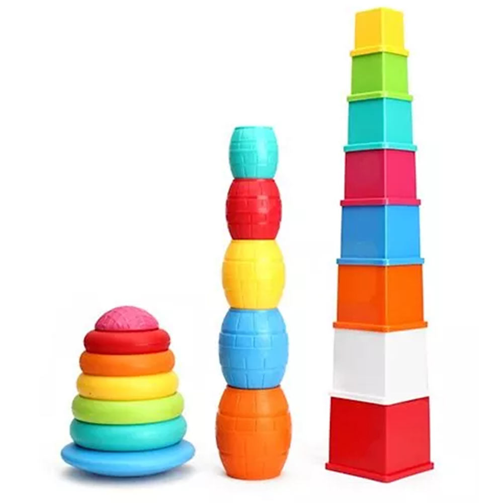Giggles Stack N Nest Toy Set 3 in 1