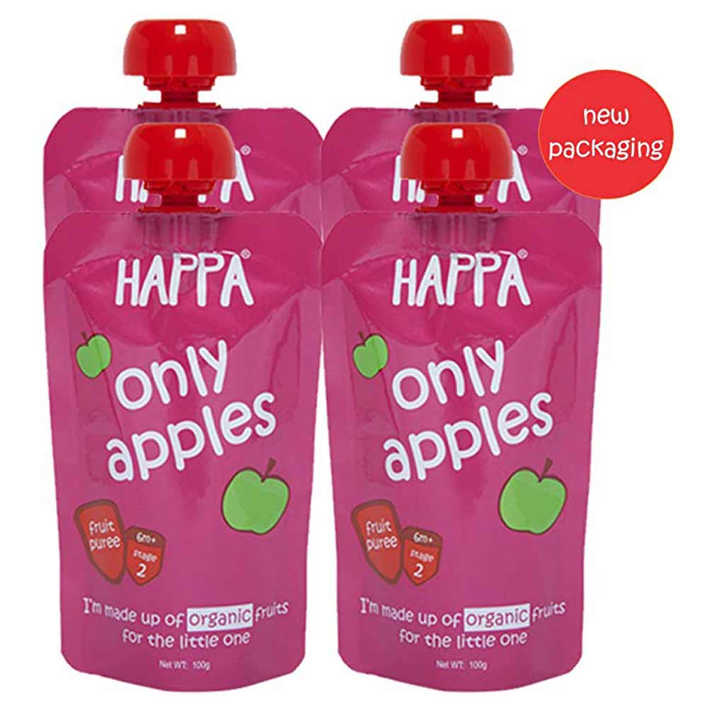 Happa Organic Apple Puree