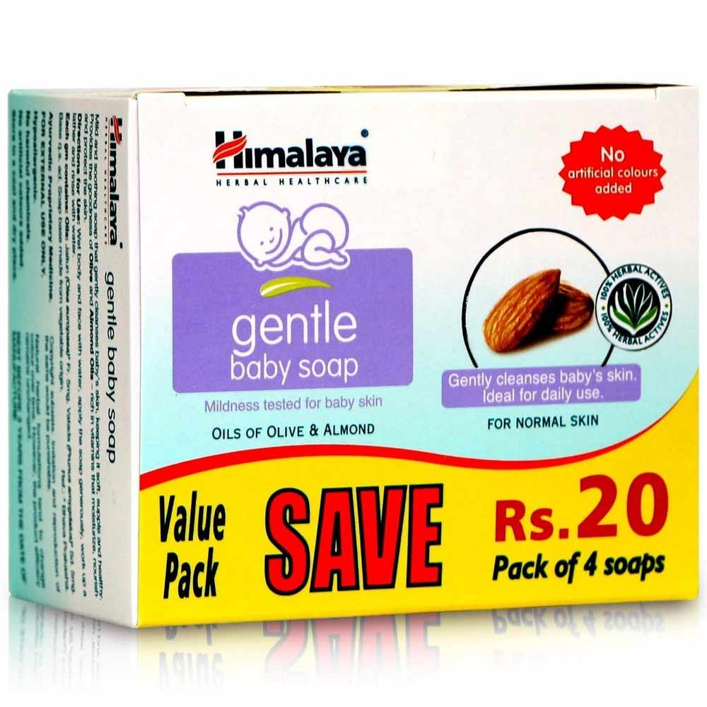 Himalaya Gentle Baby Soap Value Pack