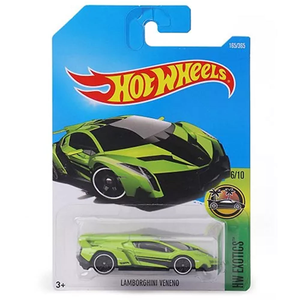 Hot Wheels HW Exotics Die Cast Toy Car